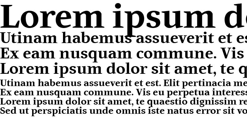 Sample of Artemius TT Bold