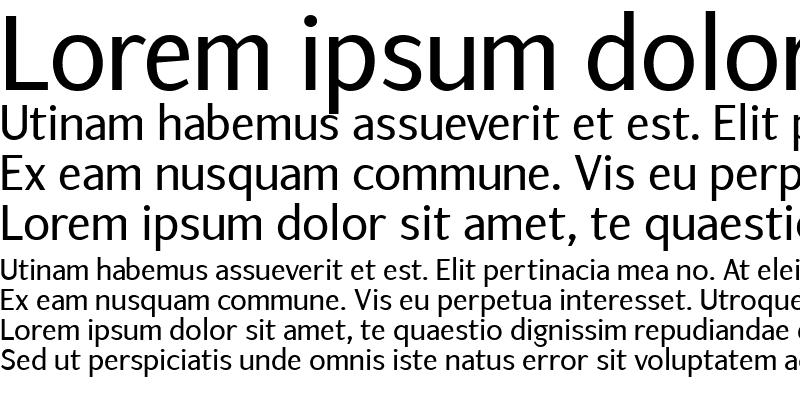 Sample of ArtemiusSans SN TT Regular
