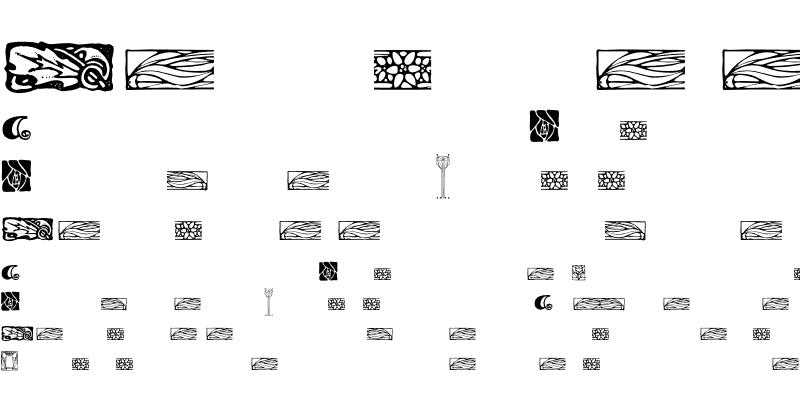 Sample of ArtsAndCrafts Ornaments