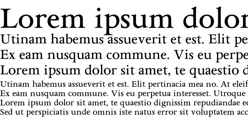Sample of AsdanteMedium Regular
