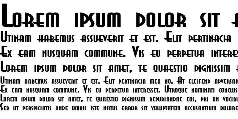 Sample of AsiaExtended Bold