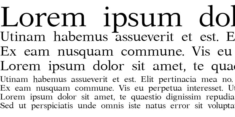 Sample of Aster MN Roman