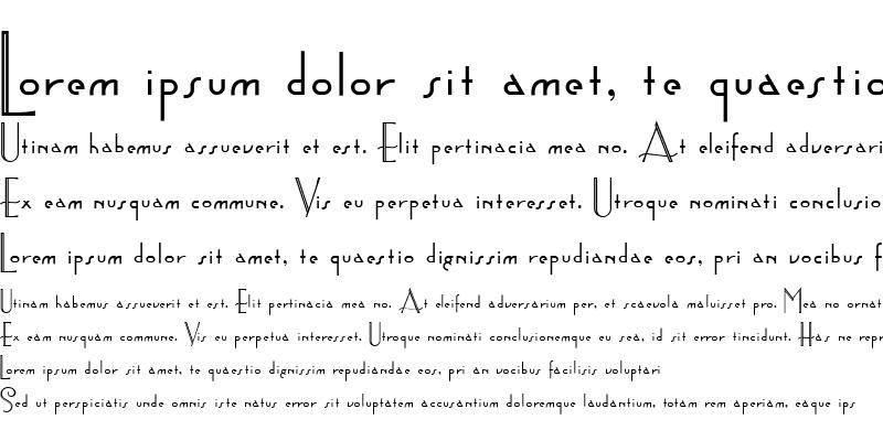 Sample of AstoriaTitling