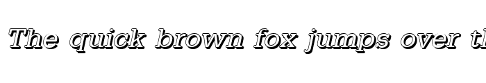 Preview of AstridBeckerShadow Italic