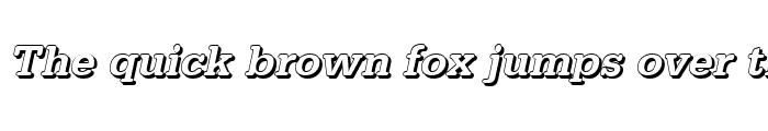 Preview of AstridBeckerShadow-Medium Italic
