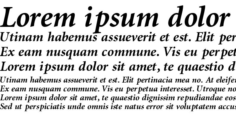 Sample of AtlantixBlackSSK Italic