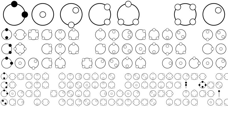 Sample of Atomic Circle