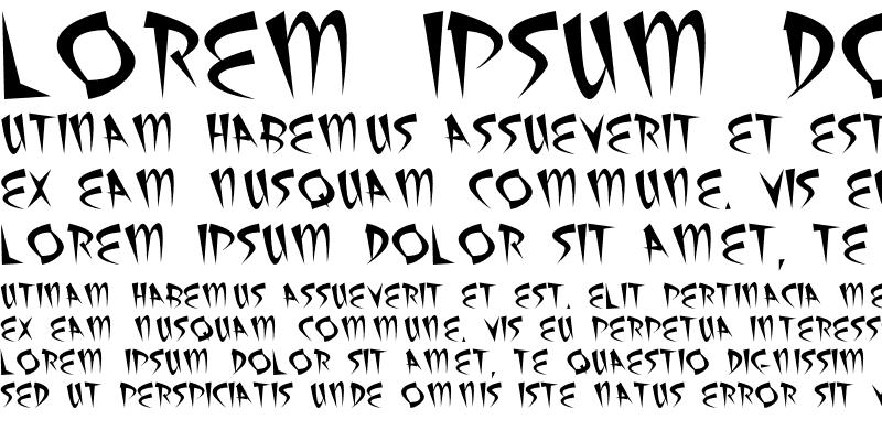 Sample of AtomicSushi Regular
