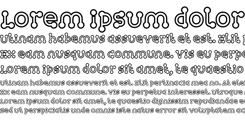 Sample of Atomium-Outline Regular
