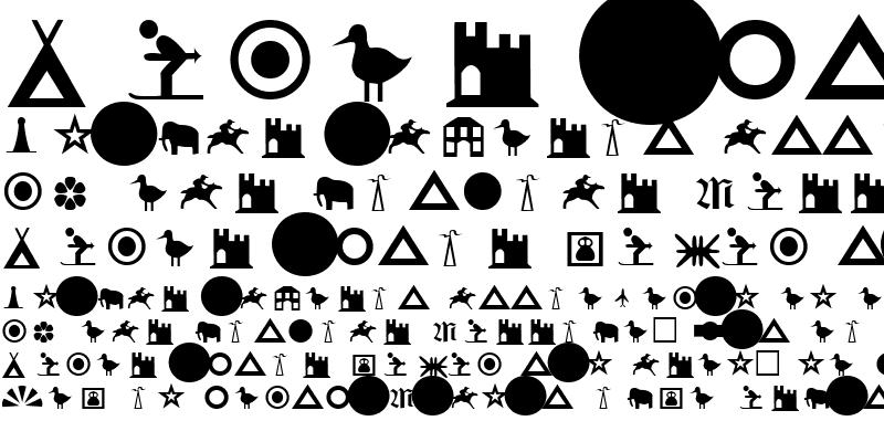 Sample of Attica VMAP Symbol 1 Regular