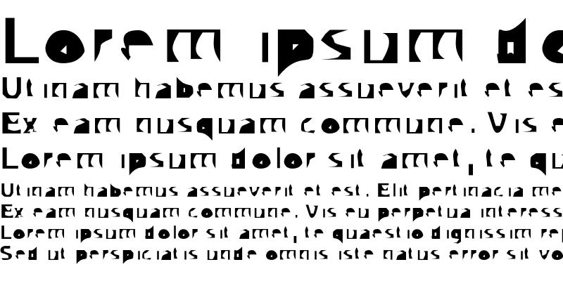 Sample of Autotrace Nine Regular