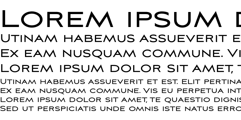 Sample of Aviano Sans Regular