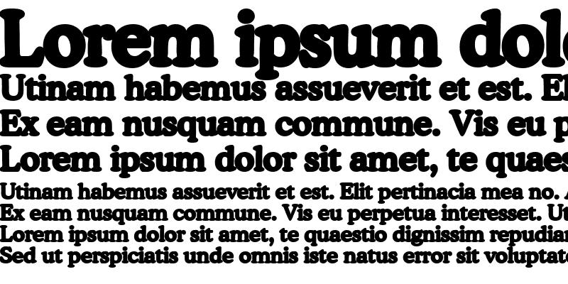 Sample of Background Font 2