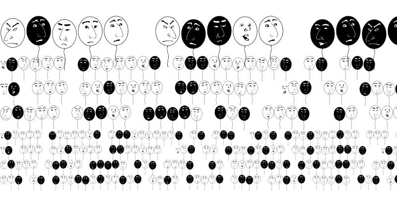 Sample of balloon man