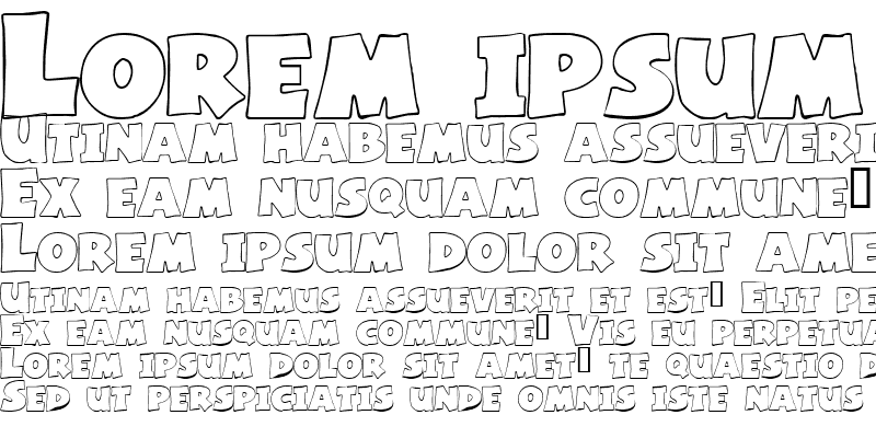 Sample of Basic Font