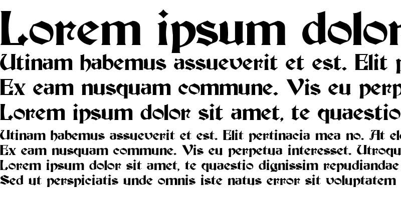 Sample of Basilika