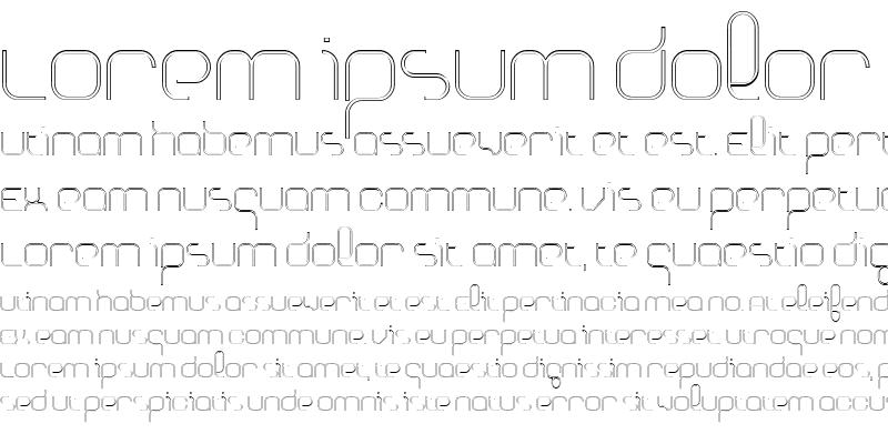Sample of BasixOutline Regular