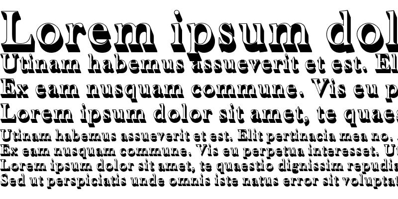 Sample of BaskervilleOldFacDSh1 Regular