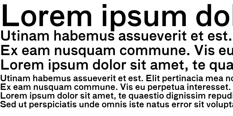 Sample of Bau-Medium