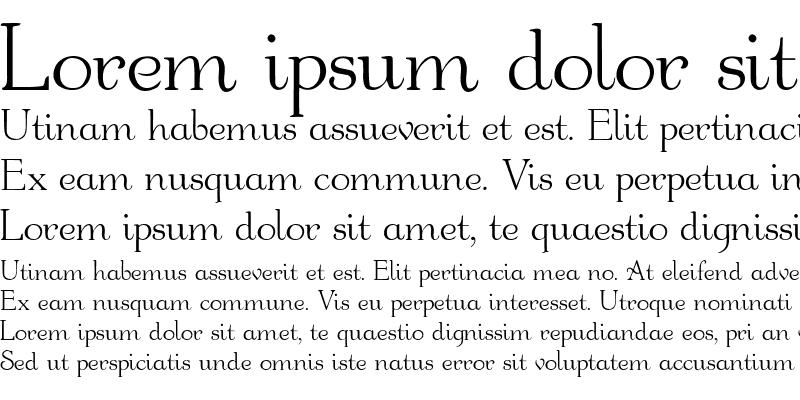 Sample of Bauderie Script SSi Regular