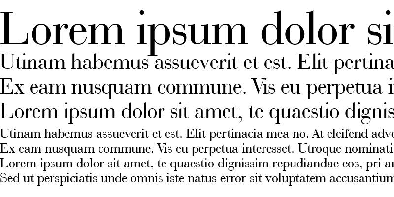 Sample of BauerBodni BT Roman