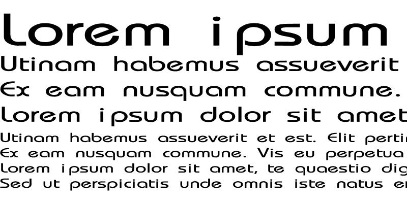 Sample of Bauhaus-Thin Extended Regular