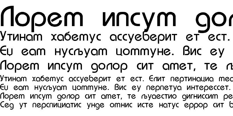 Sample of BauhausCIRn