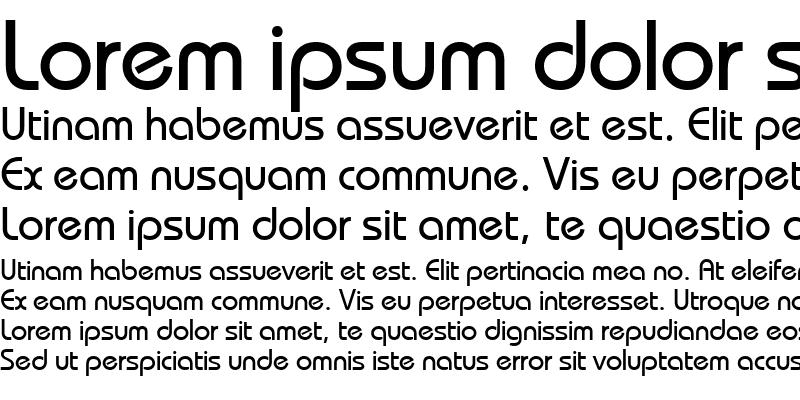 Sample of BauhausCTT