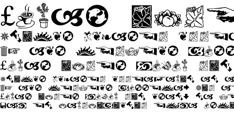 Sample of BD Symbols