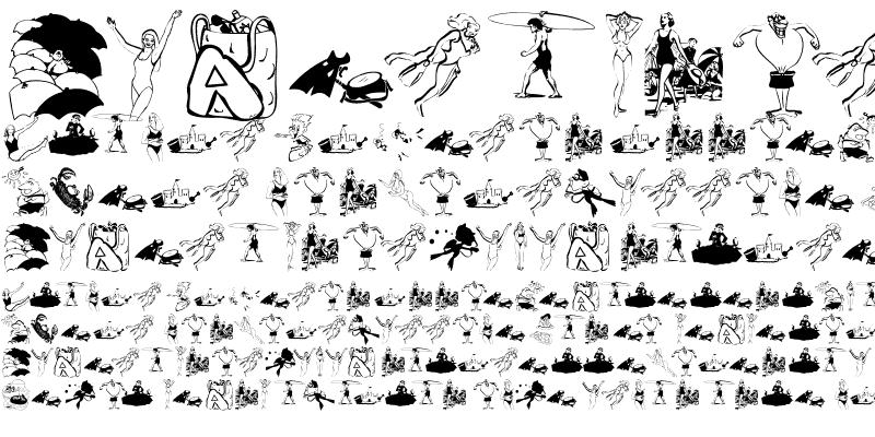 Sample of BeachBats