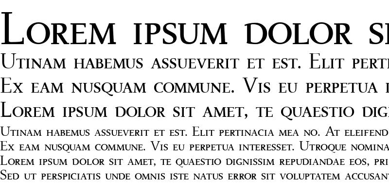 Sample of BelenSmall Caps
