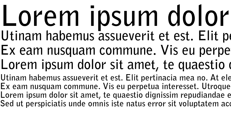 Sample of Bell Gothic Std Bold