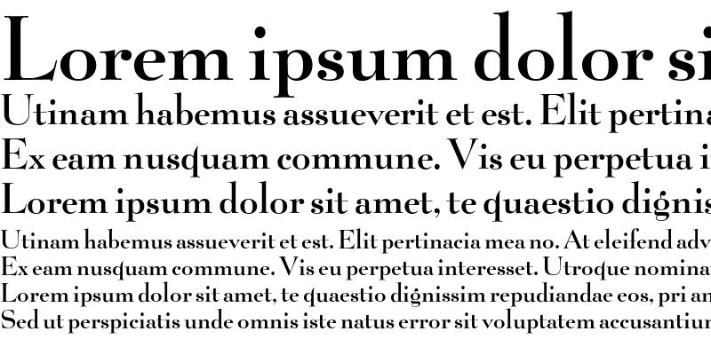 Sample of Belucian DemiBold