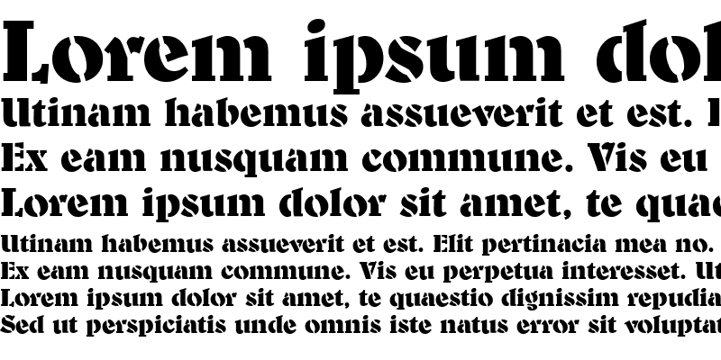 Sample of Benson-Stencil
