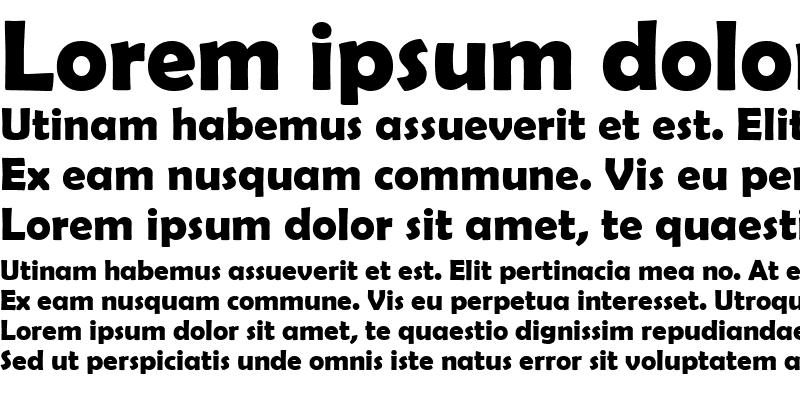 Sample of Berlin Sans FB Demi