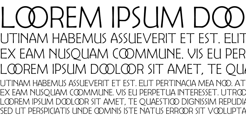 Sample of Berlin Sans Light Exp