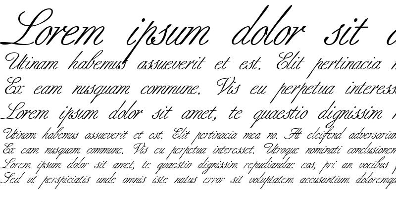 Sample of BerneseScript