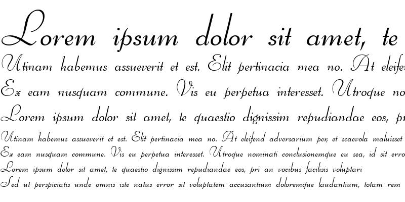 Sample of BernhardScript