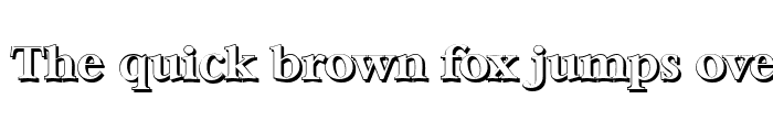 Preview of BernsteinShadow Bold