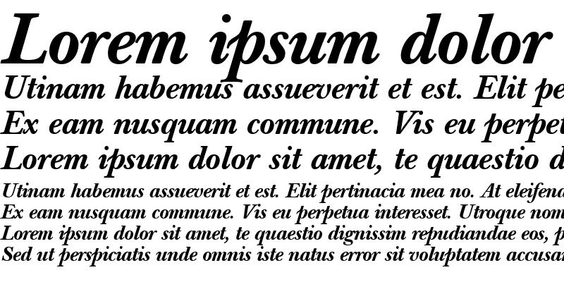 Sample of Berthold Baskerville Book Medium Italic