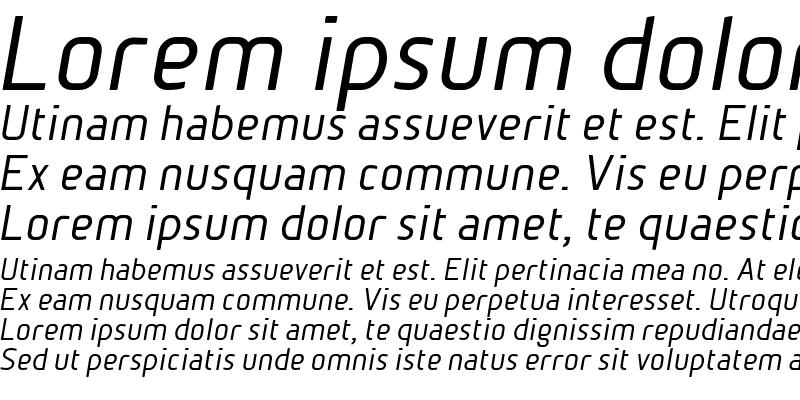 Sample of BetaSans Normal Oblique