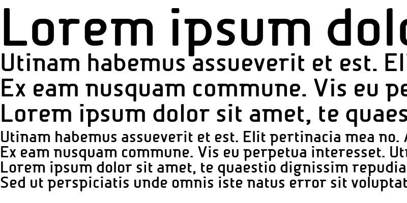 Sample of BetaSemi Bold