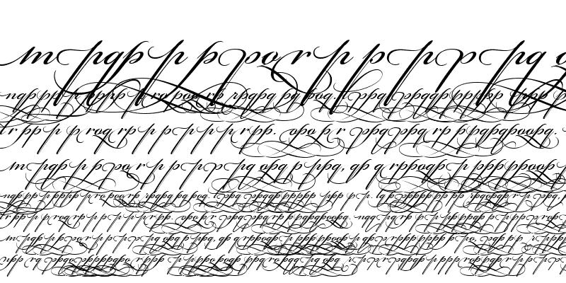 Sample of Bickham Script Alt Three Regular