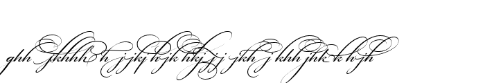 Preview of Bickham Script Alt Two Regular