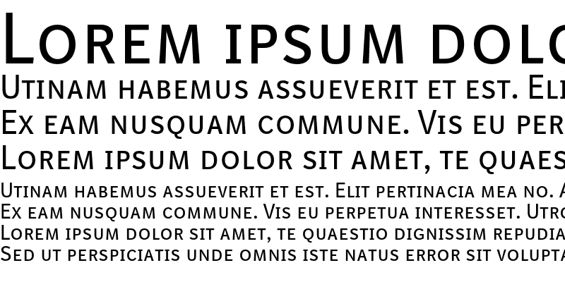 Sample of BISans Caps