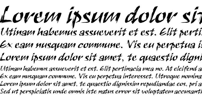 Sample of Black Ink