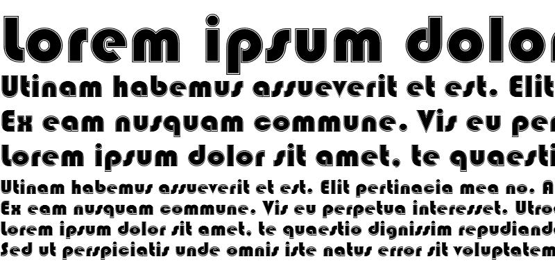Sample of BlippoBlaDIn1 Regular