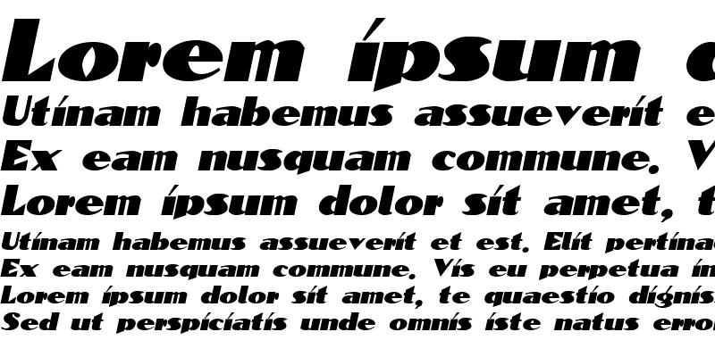 Sample of Block-Calligraphy