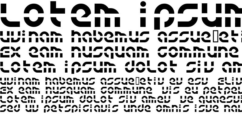 Sample of BLUE tYPE
