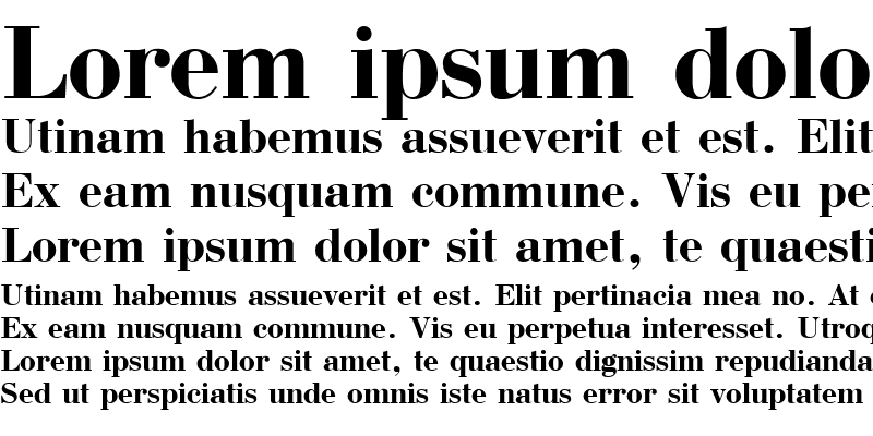 Sample of Bodoni Bold Cyrillic@